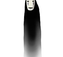 no face - spirited away by emptyglasses