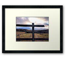 Hills of Scotland Framed Print