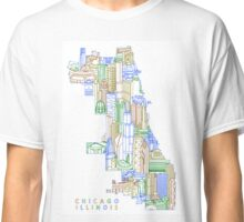 Chicago Illinois Limits Townsville Art Classic T-Shirt