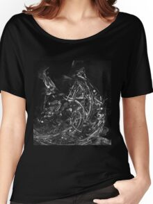 Abstract Shapes 3 - Black & White Women's Relaxed Fit T-Shirt