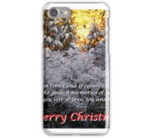 Merry Christmas #  5 iPhone Case/Skin