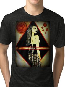 Out of the Darkness..she comes Tri-blend T-Shirt