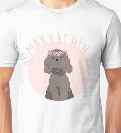 Makkachin Pink Design (Pink Letters) Unisex T-Shirt
