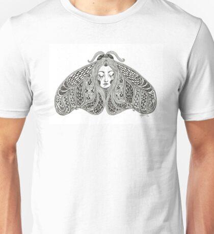 moth woman Unisex T-Shirt