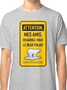 le bear polar sign/gold Classic T-Shirt