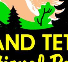 GRAND TETON NATIONAL PARK WYOMING MOUNTAINS TETONS 9 Sticker