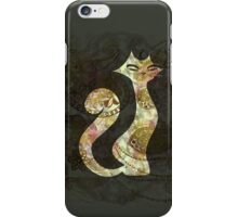 The Tattoo Cats -  Ivory and GoldTattoo iPhone Case/Skin