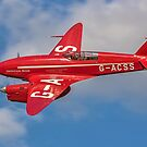 De Havilland Comet Racer G-ACSS by Colin Smedley