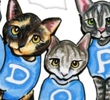 Adopt Shelter Cats Sticker