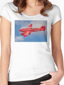 De Havilland Comet Racer G-ACSS Women's Fitted Scoop T-Shirt