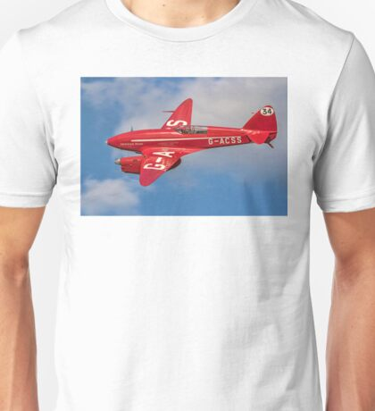 De Havilland Comet Racer G-ACSS Unisex T-Shirt