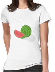 Pixel Melon Womens Fitted T-Shirt