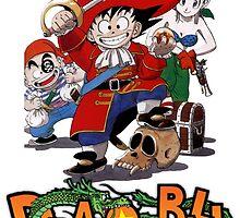 Pirate Goku by emptyglasses