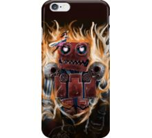 The Lady And the Robot iPhone Case/Skin