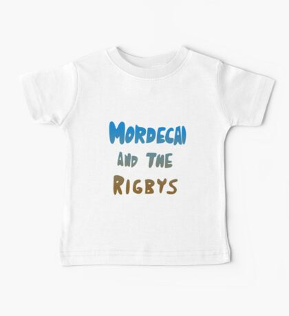 Mordecai and the Rigbys Baby Tee