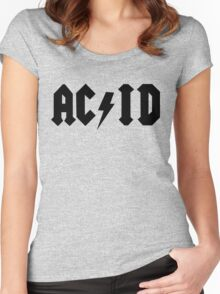 Acid Two Women's Fitted Scoop T-Shirt