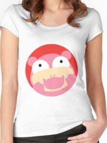 HAPPY SLOWPOKE Women's Fitted Scoop T-Shirt