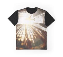 airplane in new york city Graphic T-Shirt