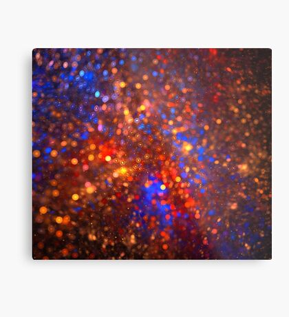 Magma Stars Metal Print