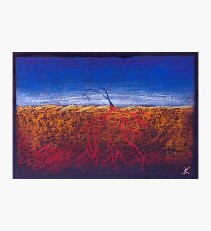 Roots Red Photographic Print