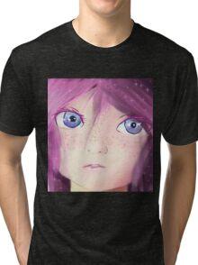 The Doll's eyes Tri-blend T-Shirt
