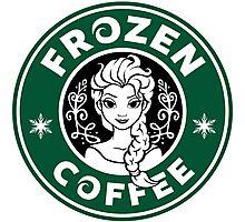 Frozen Coffee Photographic Print