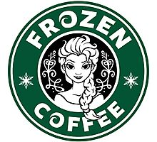 Frozen Coffee Photographic Print