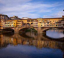 Vecchio Bridge Florence by scottimage