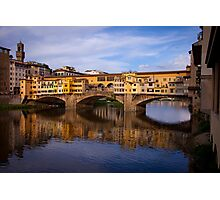 Vecchio Bridge Florence Photographic Print