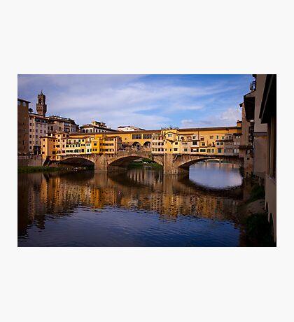 Vecchio Bridge Florence Photographic Print