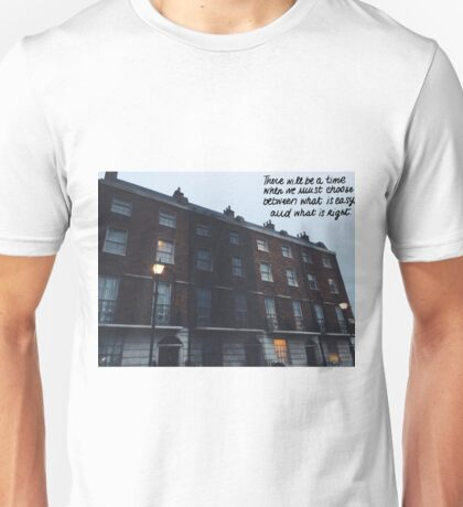the order HQ- right and easy quote Unisex T-Shirt