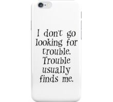 Harry Potter quote iPhone Case/Skin