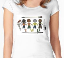 The Walking Dead Family Women's Fitted Scoop T-Shirt