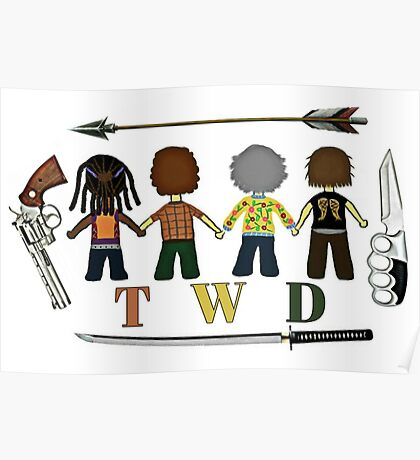 The Walking Dead Family Poster