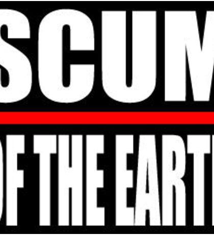 scum Sticker