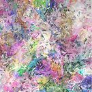Textural Abstract Spectrum by Phil Perkins