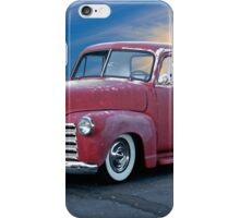 1947 Chevy 'Cosmetically Challenged' Pickup iPhone Case/Skin