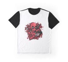 Deadpool Chibi Graphic T-Shirt