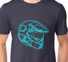 Space Trooper Helmet - Blue Unisex T-Shirt