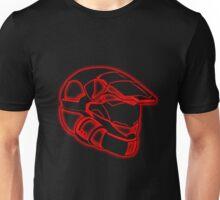 Space Trooper Helmet - Red Unisex T-Shirt