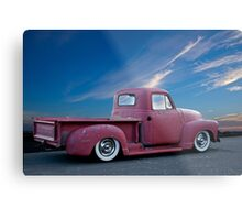 1947 Chevy 'La Patina' Pickup Truck Metal Print