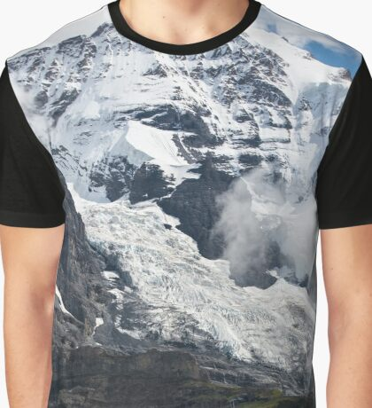 The Monk - Swiss Bernese Alps - Grindelwald - Switzerland Graphic T-Shirt