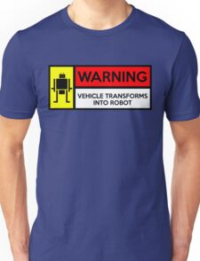 warning  Unisex T-Shirt
