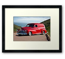 1947 Chevrolet 'Passion Pit' Panel Framed Print