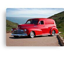 1947 Chevrolet 'Passion Pit' Panel Canvas Print