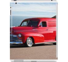 1947 Chevrolet 'Passion Pit' Panel iPad Case/Skin