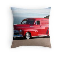 1947 Chevrolet 'Passion Pit' Panel Throw Pillow