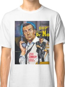 James Bond Sean Connery painting Classic T-Shirt