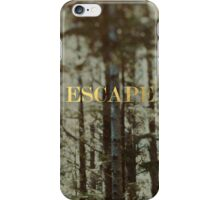 Escape x Forest iPhone Case/Skin
