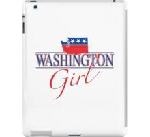 Washington Girl - Red, White & Blue Graphic iPad Case/Skin
